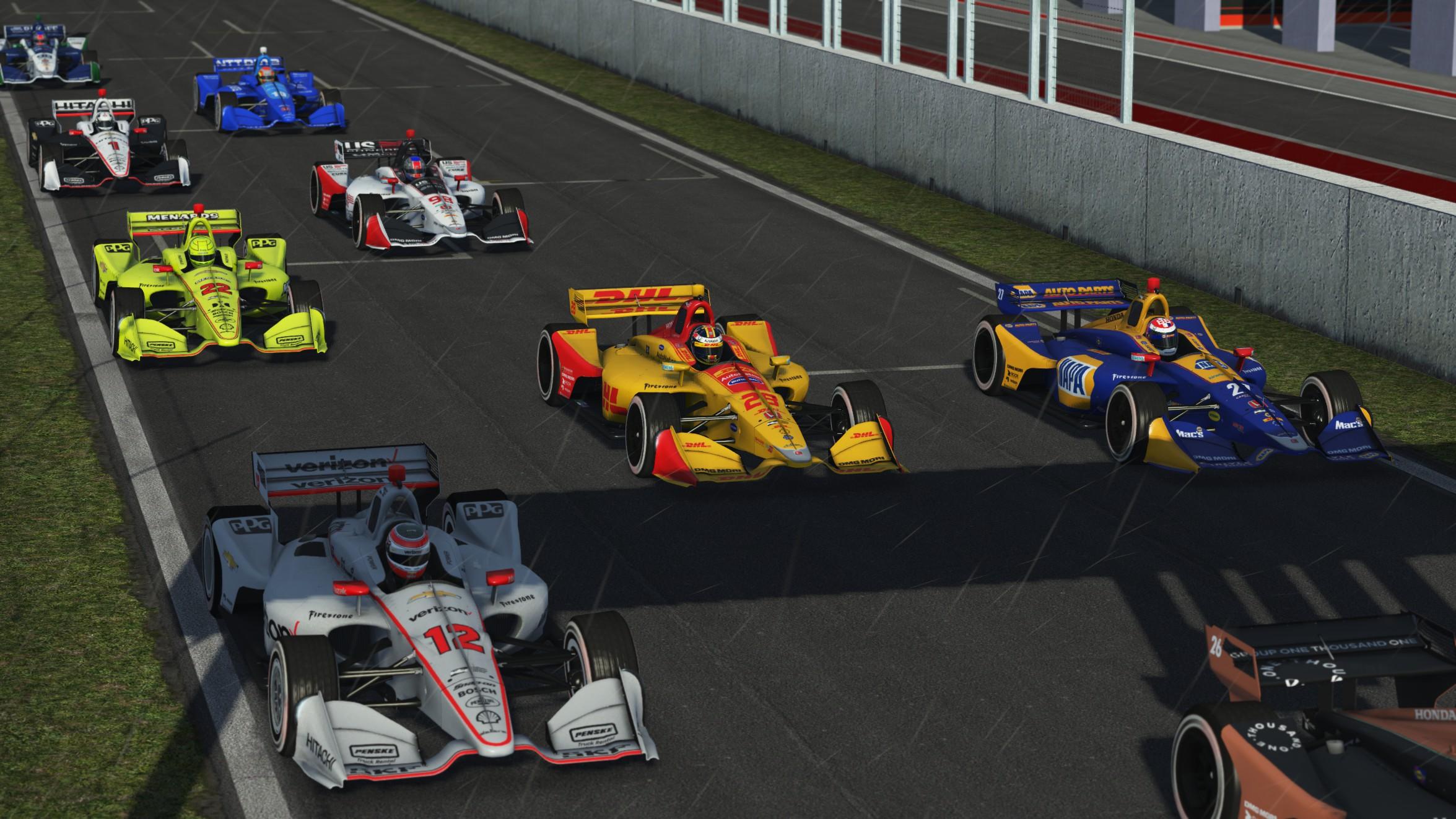 rFactor 2 Indy 2018 Mod